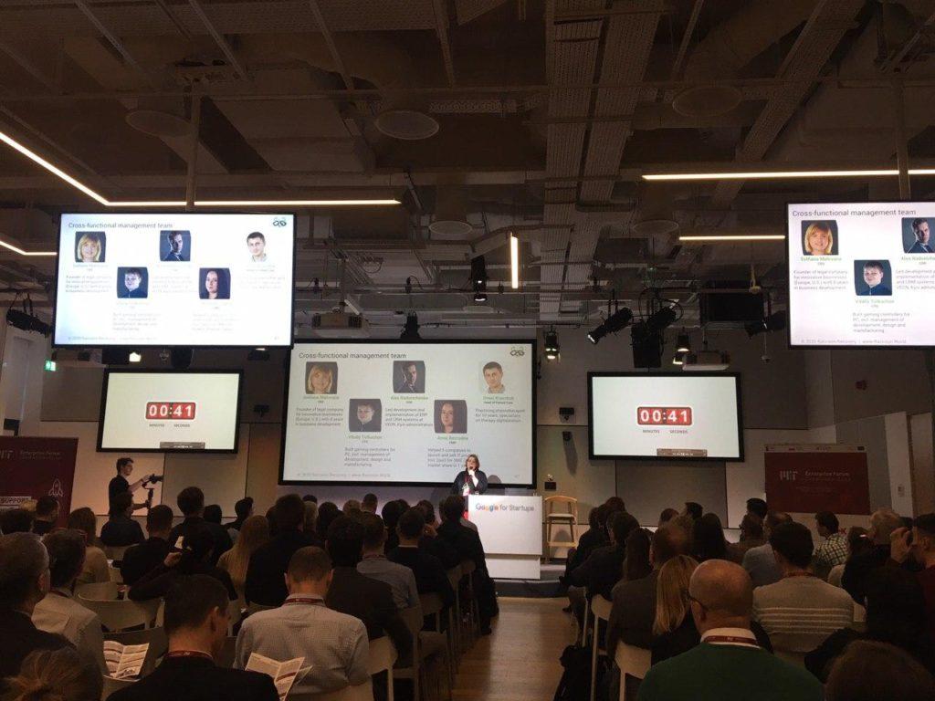 Raccoon.World at Demo Day, MIT Enterprise Forum CEE