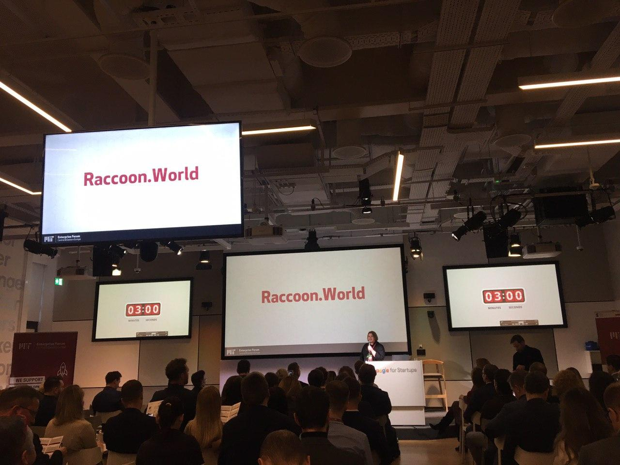 Raccoon.World at Demo Day, MIT Enterprise Forum CEE