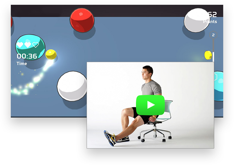 Gamified training ensure clients' motivation