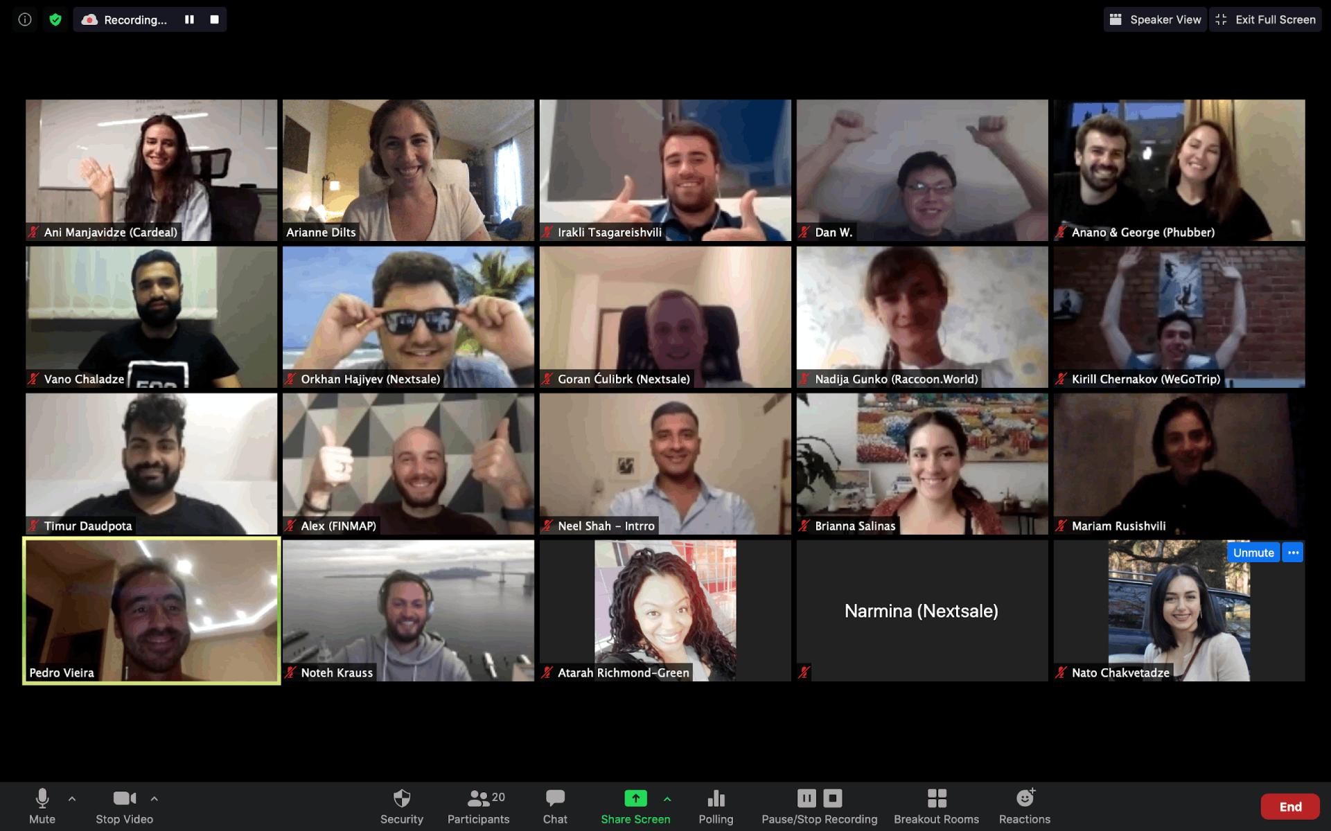 500 Startups meeting