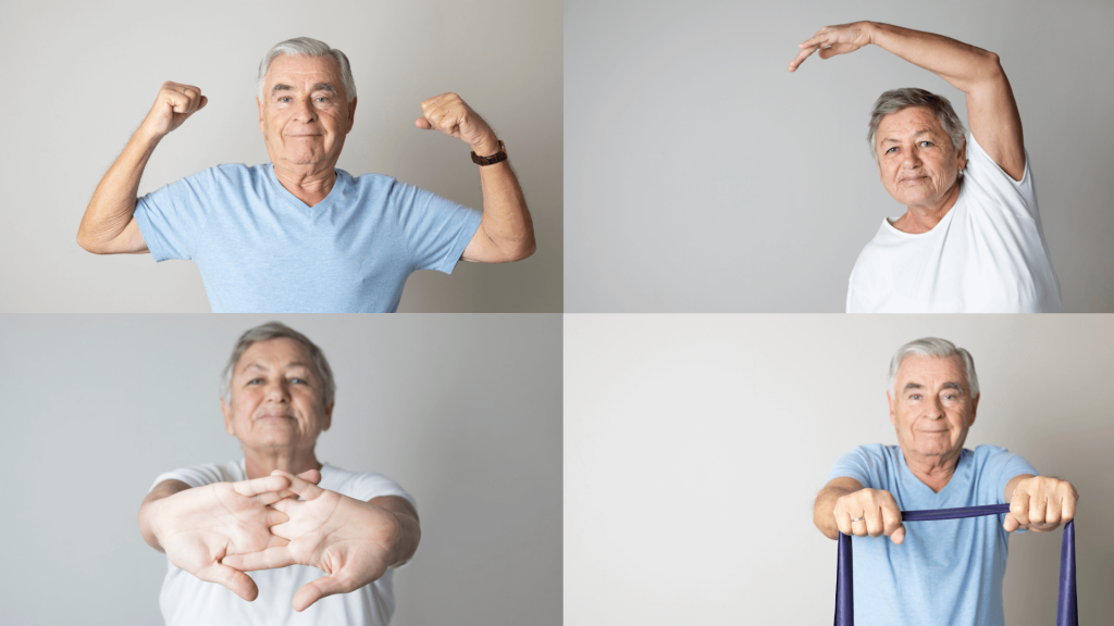 4 Types of physical therapy for seniors